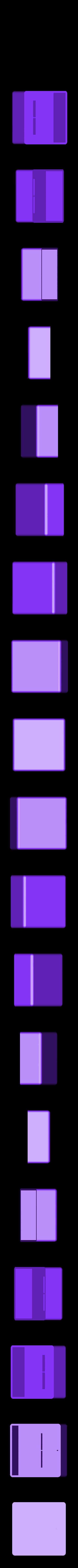 squareholderV3.stl Télécharger fichier STL gratuit Moule à verre Ice Shot V3 • Modèle pour imprimante 3D, Gophy