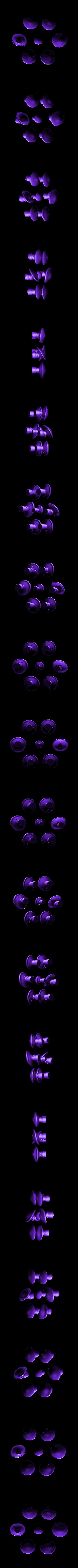 Fantasia_Mushrooms.stl Download free STL file Fantasia - Mushrooms • Design to 3D print, mag-net