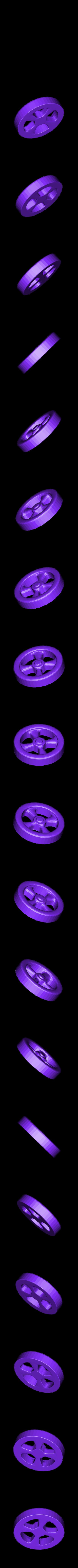 SteeringWheels.stl Download STL file Rocket Car • 3D printer design, svandalk
