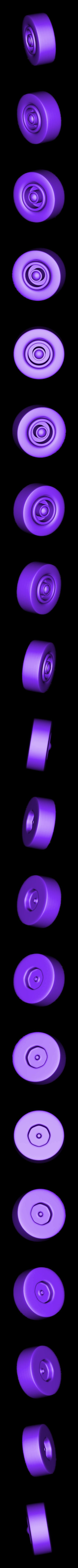 Tire-Back_L.stl Download STL file Rocket Car • 3D printer design, svandalk