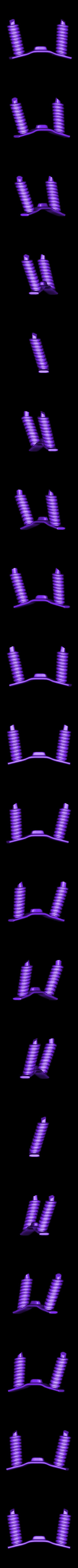 Spring.stl Download STL file Rocket Car • 3D printer design, svandalk
