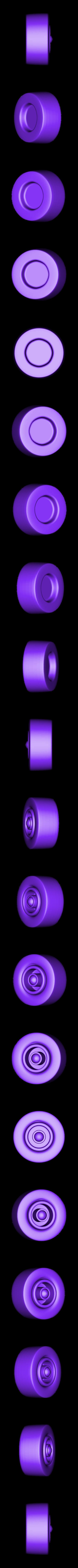 Tire-Front-R.stl Download STL file Rocket Car • 3D printer design, svandalk