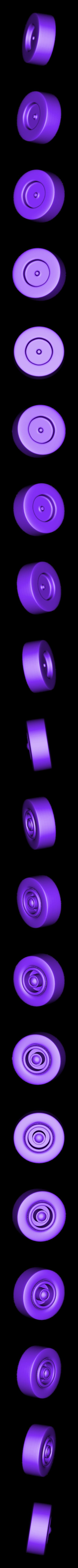 Tire-Back_R.stl Download STL file Rocket Car • 3D printer design, svandalk