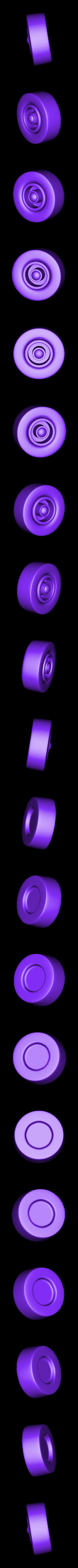 Tire-Front-L.stl Download STL file Rocket Car • 3D printer design, svandalk