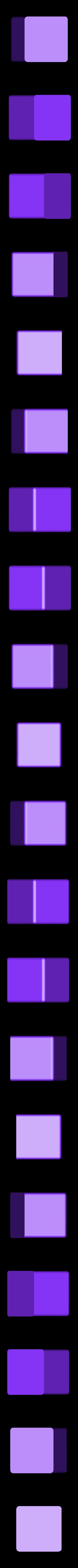 Kuutio_ilman_reikaa.stl Télécharger fichier STL gratuit Porte-filtre Brita Maxtra • Objet pour impression 3D, NusNus