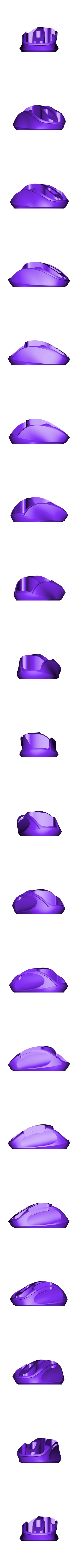 azuro_base.stl Download free STL file Azuro Computer Mouse • 3D printer model, MaxMKA