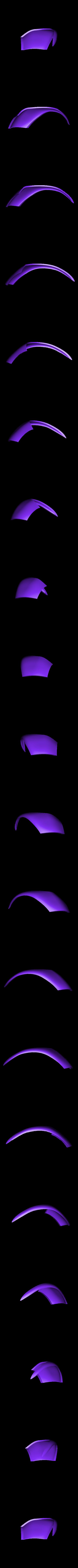 azuro_top2.stl Download free STL file Azuro Computer Mouse • 3D printer model, MaxMKA