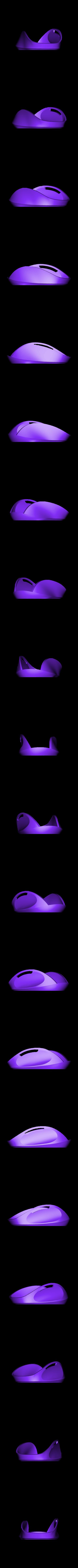 azuro_base_noinsert.stl Download free STL file Azuro Computer Mouse • 3D printer model, MaxMKA