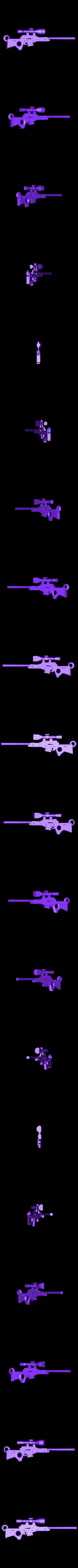 Sniper fortnite 3.stl Download free STL file Fortnite Sniper Key Chain • Model to 3D print, davidbt96