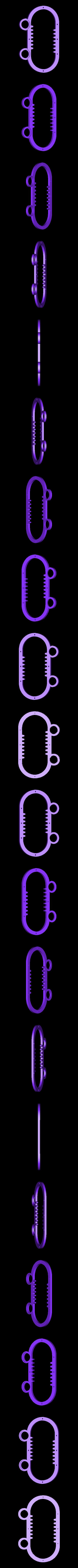 rpb-rack.stl Download free STL file Reciprocating Rack and Pinion • 3D printable model, Adafruit
