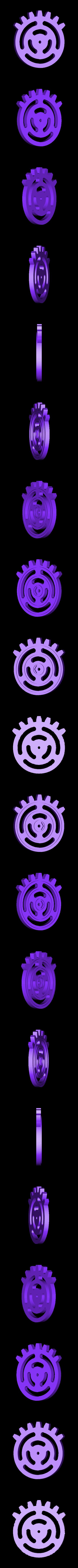 rpb-wheel.stl Download free STL file Reciprocating Rack and Pinion • 3D printable model, Adafruit
