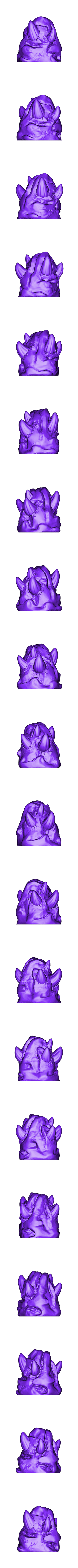Chaos_stone1.stl Download free STL file Chaos stones • Template to 3D print, duncanshadow