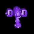 spider_gun_fixed.stl Download free STL file Robot Spider • 3D print design, duncanshadow