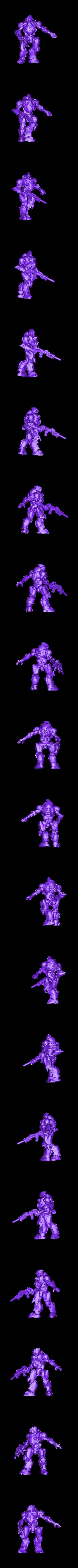 Mecha2.stl Download free STL file Mecha x2 • 3D print model, duncanshadow
