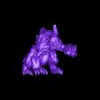 Hound2.stl Download free STL file Hell Hounds • 3D printer design, duncanshadow