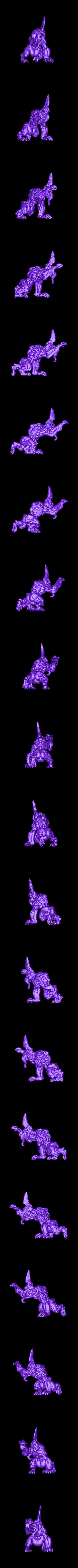 Hound1.stl Download free STL file Hell Hounds • 3D printer design, duncanshadow