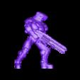 Sci_fi_gunner.stl Download free STL file sci-fi gunner • 3D printable object, duncanshadow