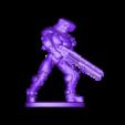 Sci_fi_gunner_With_Base.stl Download free STL file sci-fi gunner • 3D printable object, duncanshadow