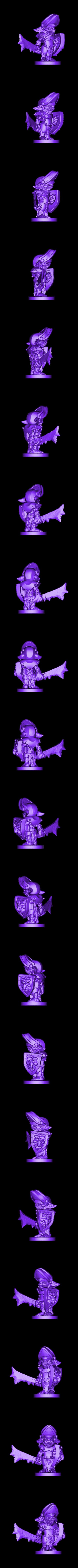Armoured_Goblin2.stl Download free STL file Armoured Goblins • 3D printer model, duncanshadow
