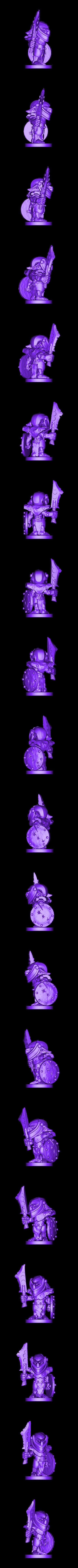 Armoured_Goblin3.stl Download free STL file Armoured Goblins • 3D printer model, duncanshadow