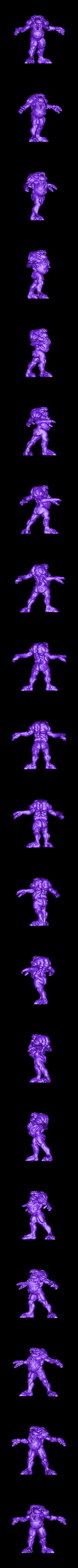 Demon3.stl Download free STL file 3x Demons • 3D printing object, duncanshadow