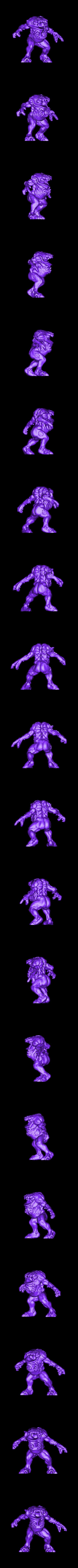 Demon2.stl Download free STL file 3x Demons • 3D printing object, duncanshadow