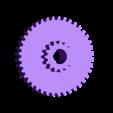 DC Large Gear (2).stl Download free STL file AUG 2018 UFO Project, Drift Motorcycle • 3D printer template, Alien3d