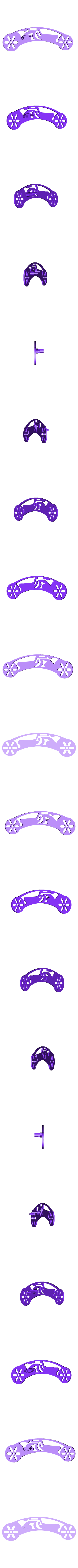 DC Left Side.stl Download free STL file AUG 2018 UFO Project, Drift Motorcycle • 3D printer template, Alien3d