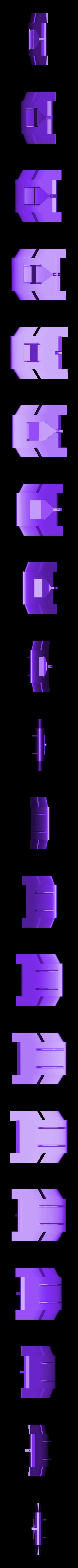 DD3_center_stl.STL Télécharger fichier STL gratuit DD3 wing • Modèle pour impression 3D, Piva