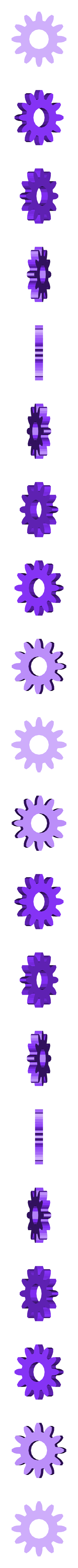 ing cover 9.stl Download free STL file cover gears for xiaomi mi A1 • 3D print object, Delli98
