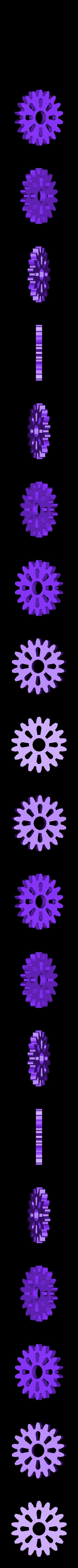 ing cover 11.stl Download free STL file cover gears for xiaomi mi A1 • 3D print object, Delli98