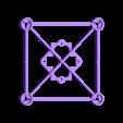 """griff2.5.stl Download free STL file GR1FF 2.5"""" - Frame for 0703 motors • 3D printable object, Gophy"""