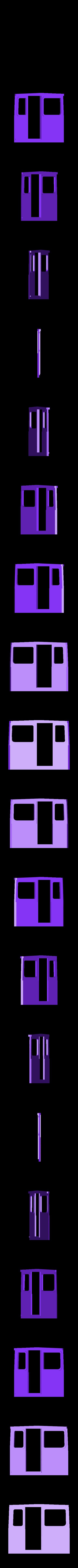 G Ar cabine.STL Download STL file Draisine Matisa for LGB • 3D printable object, biddle