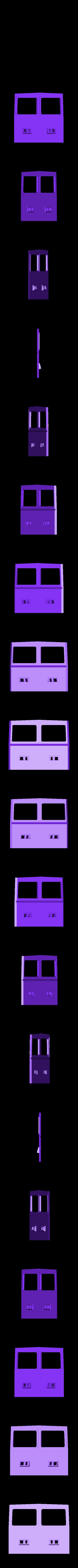 G Av cabine.STL Download STL file Draisine Matisa for LGB • 3D printable object, biddle