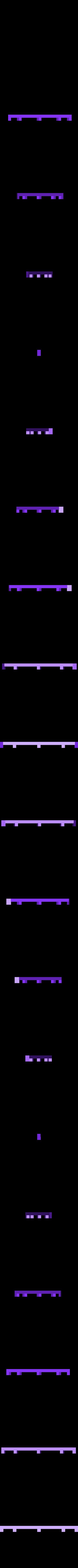 G traverse1 sous ridelle.STL Download STL file Draisine Matisa for LGB • 3D printable object, biddle