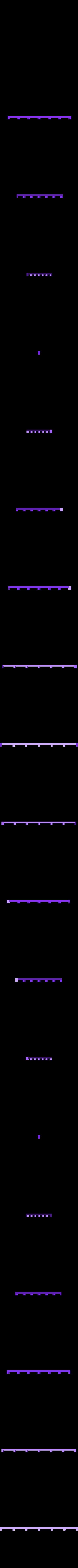 G traverse2 sous ridelle.STL Download STL file Draisine Matisa for LGB • 3D printable object, biddle