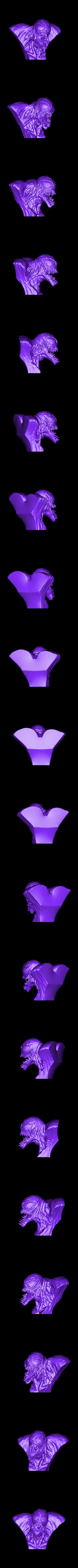 VenomBUST.stl Download STL file Venom Bust - Marvel 3D print model • 3D printable design, Bstar3Dart