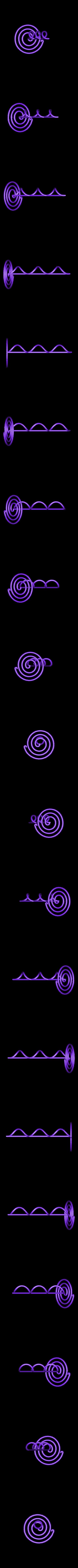 Servilletero.stl Télécharger fichier STL gratuit Rond de serviette Quaver • Plan à imprimer en 3D, davidbt96