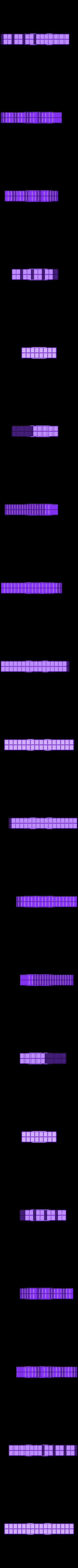 TechnoGothicVentedWallA.stl Télécharger fichier STL gratuit ScatterBlocks : Murs TechnoGothique (échelle 28mm/32mm) • Plan pour impression 3D, Dutchmogul