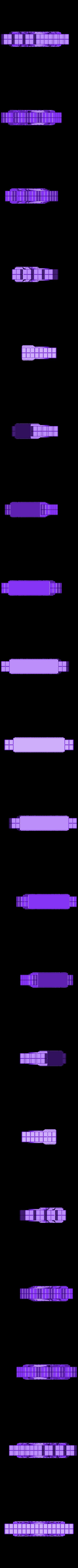 TechnoGothicReinforcedWallA.stl Télécharger fichier STL gratuit ScatterBlocks : Murs TechnoGothique (échelle 28mm/32mm) • Plan pour impression 3D, Dutchmogul
