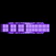 TechnoGothicReinforcedWallA.stl Download free STL file ScatterBlocks: TechnoGothic Walls (28mm/32mm scale) • Object to 3D print, Dutchmogul