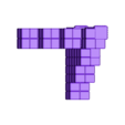 TechnoGothicCornerA.stl Download free STL file ScatterBlocks: TechnoGothic Walls (28mm/32mm scale) • Object to 3D print, Dutchmogul