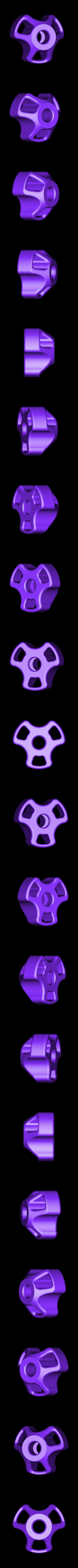 Nut-M8.STL Download free STL file Knob for nuts M8 • 3D printable design, perinski