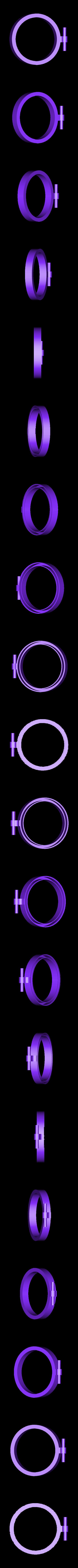 AttachedHinge_LowerPart.stl Download free STL file Jars from bottles • 3D print design, Matlek