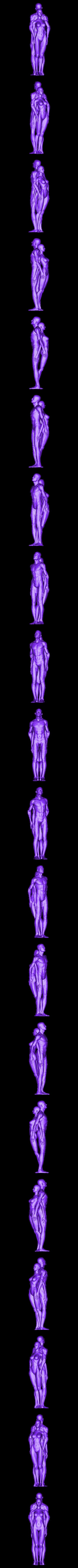 couple.obj Télécharger fichier OBJ couple homme femme • Plan pour impression 3D, juanpix