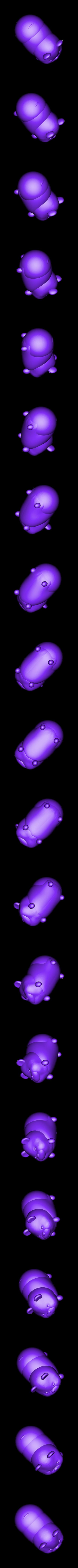 winnie color.stl Download STL file Winnie the Pooh the Pooh • 3D print model, Majin59