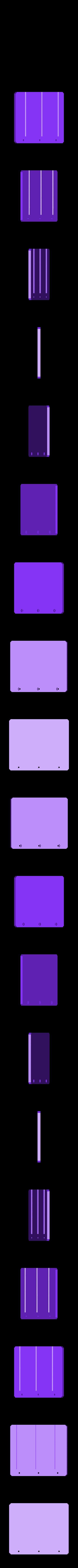 PCB_Prowadnica.stl Télécharger fichier STL gratuit Porte-cartes • Plan pour imprimante 3D, kpawel