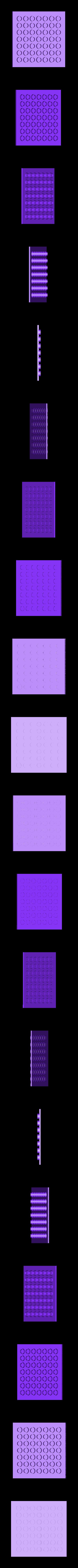lego-3xAA-tubes.stl Télécharger fichier STL gratuit Étui à piles compatible LEGO • Design pour imprimante 3D, Adafruit
