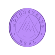 Ural_Motorcycles.stl Download free STL file Ural Motorcycles Logo Sign • Template to 3D print, MeesterEduard