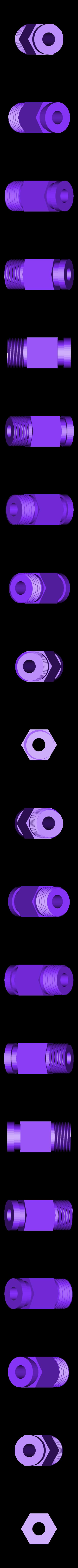 PC4_Uchwyt.stl Télécharger fichier STL gratuit PC4-M10 de remplacement (support PTFE de 4 mm) ; projet DLP • Plan à imprimer en 3D, kpawel